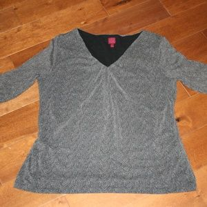 212 Collection Top w/Ruching